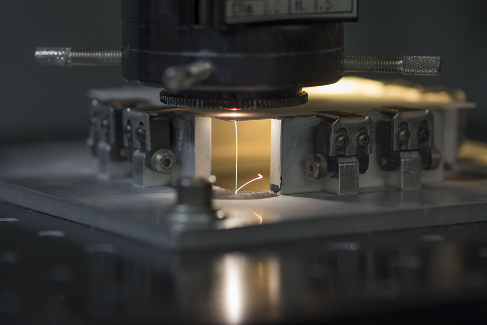 Laser machining of thin film substrate materials