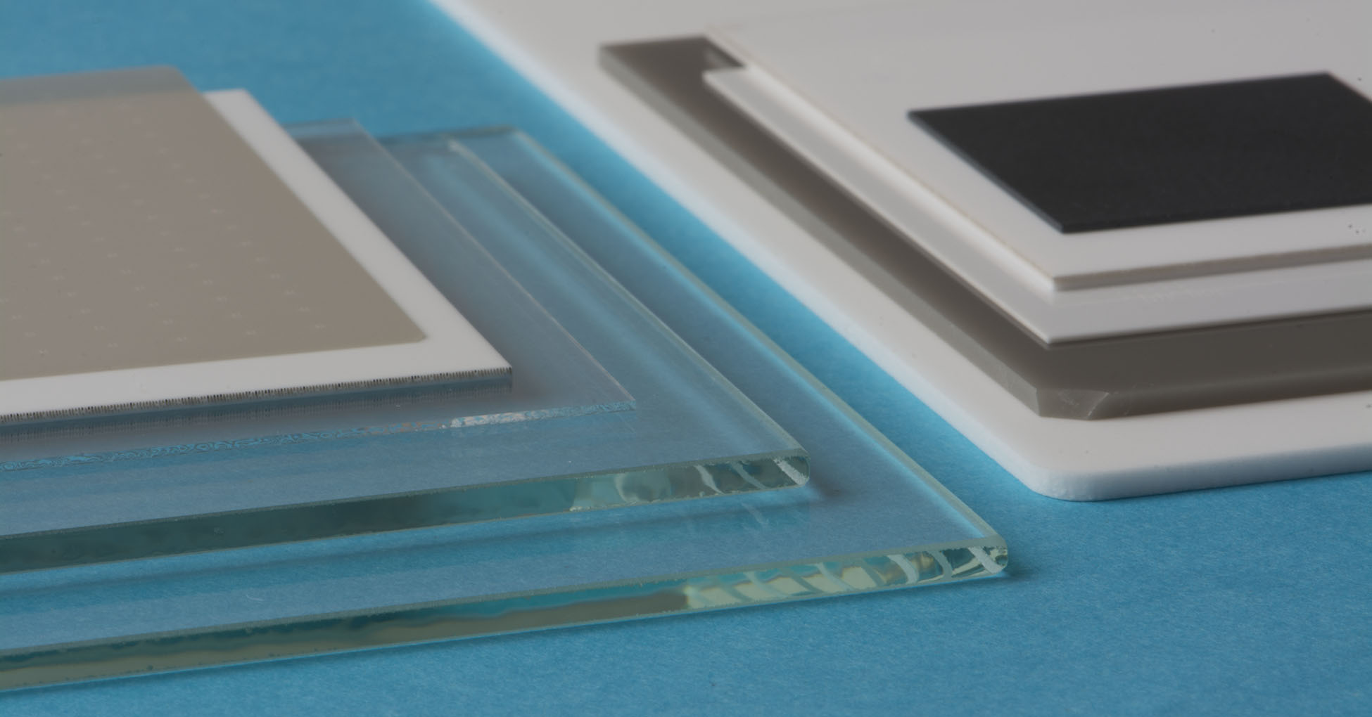Various thin film substrate materials