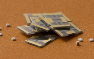 Thin film resistor samples