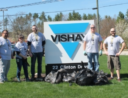 Earth Day at Vishay UltraSource
